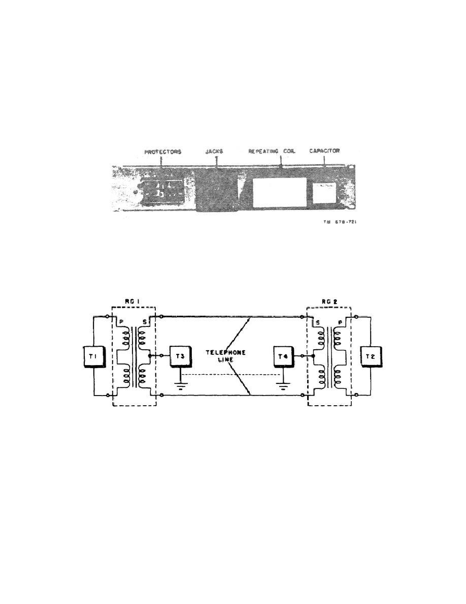 Simplex Telephone Circuit.